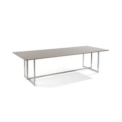 Lucca rectangular dining table | Garten-Esstische | Manutti