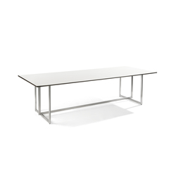 Lucca rectangular dining table | Tables à manger de jardin | Manutti