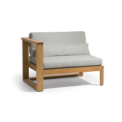 Siena lounge right seat | Armchairs | Manutti