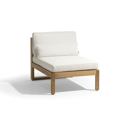 Siena lounge small middle seat | Garden armchairs | Manutti