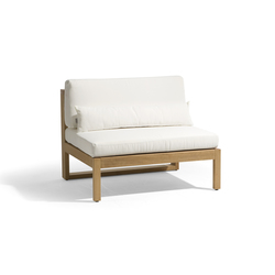 Siena lounge large middle seat | Garden armchairs | Manutti