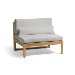 Siena lounge large middle seat | Armchairs | Manutti