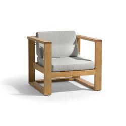 Siena lounge 1 seat | Fauteuils de jardin | Manutti