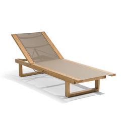 Siena textiles lounger | Sonnenliegen / Liegestühle | Manutti