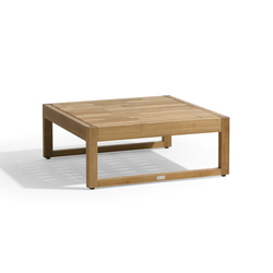 Siena lounge medium footstool/sidetable | Gartenhocker | Manutti