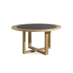Siena round dining table | Dining tables | Manutti
