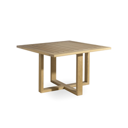 Siena square dining table | Tables à manger de jardin | Manutti