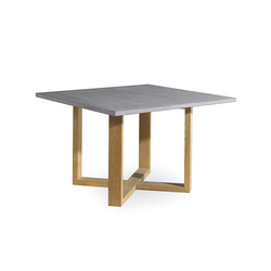 Siena square dining table | Mesas comedor | Manutti