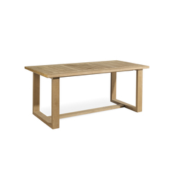 Siena rectangular dining table | Garten-Esstische | Manutti