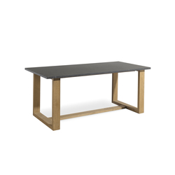 Siena rectangular dining table | Tables à manger de jardin | Manutti