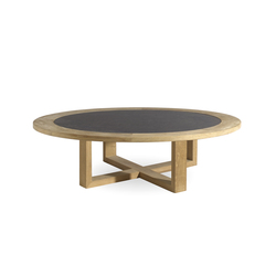 Siena round coffee table | Tables basses de jardin | Manutti