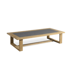Siena rectangular coffee table | Mesas de centro de jardín | Manutti