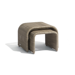 Swing nesting tables (set of 2) | Mesas auxiliares de jardín | Manutti