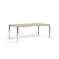 Trento rectangular dining table | Garten-Esstische | Manutti