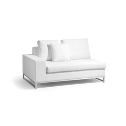 Zendo right seat | Garden sofas | Manutti