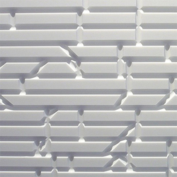 Matrix wall panel | Mineralwerkstoff Platten | AMOS DESIGN