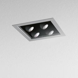 Java 158 4 Lamps square | Recessed ceiling lights | Artemide Architectural