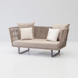 Bitta 2 seater sofa | Gartensofas | KETTAL