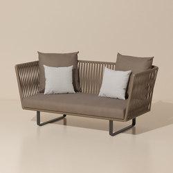 Bitta 2 seater sofa | Sofas de jardin | KETTAL