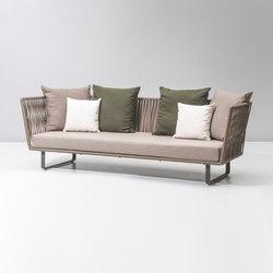 Bitta 3 seater sofa | Divani da giardino | KETTAL