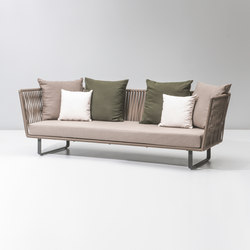 Bitta 3 seater sofa | Garden sofas | KETTAL