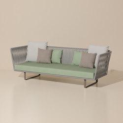 Bitta 3 seater sofa | Sofas de jardin | KETTAL