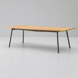 Bitta dining table extendable 8-10 guests | Dining tables | KETTAL