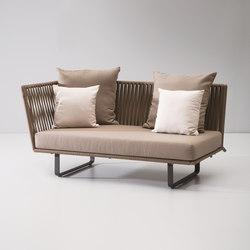 Bitta left corner module | Garden sofas | KETTAL