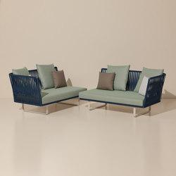 Bitta corner module | Garden sofas | KETTAL
