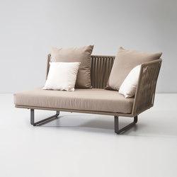 Bitta right corner module | Garden sofas | KETTAL