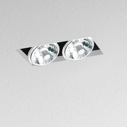 Nothing Recessed 2 Lamps | Recessed ceiling lights | Artemide Architectural