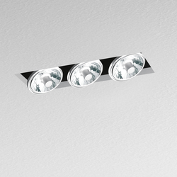 Nothing Recessed 3 Lamps | Lampade soffitto incasso | Artemide Architectural