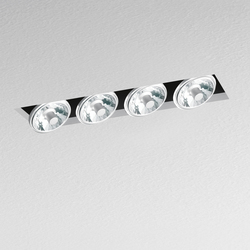 Nothing Recessed 4 Lamps | Recessed ceiling lights | Artemide Architectural