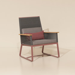 Landscape club armchair teak | Garden armchairs | KETTAL