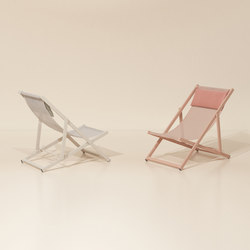 Landscape 4 positions folding transat | Garden armchairs | KETTAL