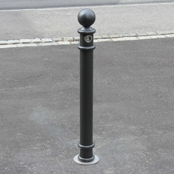 Public Bollard removable barrier post - Aarau | Bornes | BURRI