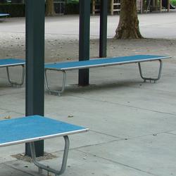 Tartan Bench | Exterior benches | BURRI