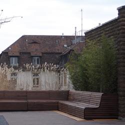Bench ETH-Terasse | Exterior benches | BURRI