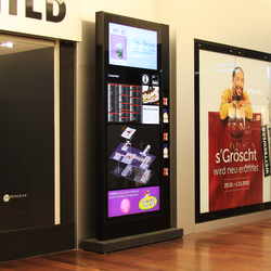 City Lights - E-Panel Monitor Systems | Advertising displays | BURRI