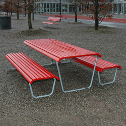 Landi Bench without backrest | Exterior benches | BURRI