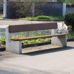 Marco Bench | Exterior benches | BURRI