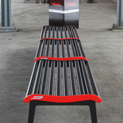 RhB Bench without backrest | Sillas de exterior | BURRI