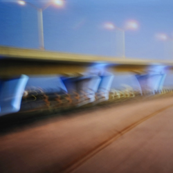 No. 7474 | Blue bridge | Wall coverings / wallpapers | Berlintapete