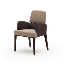 grace softchair with armrests | Sedie | Wiesner-Hager
