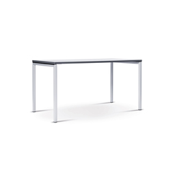 n.f.t. folding table, four-leg base | Elementi per tavoli conferenza | Wiesner-Hager