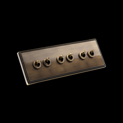 1950 3xdouble switch | Toggle switches | Fontini