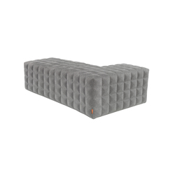 BuzziCube 3D L | Upholstered benches | BuzziSpace