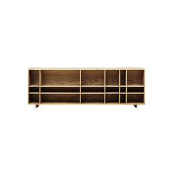 Kilt Open 180 | Shelving systems | ASPLUND