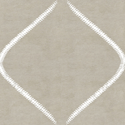 Cuirs leathers | Zip VP 692 05 | Colour grey | Élitis