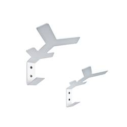 Flake wall hooks | Percheros de pared | Cascando